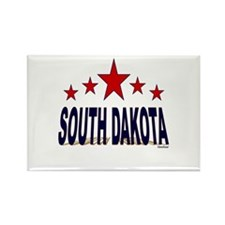 South Dakota Rectangle Magnet