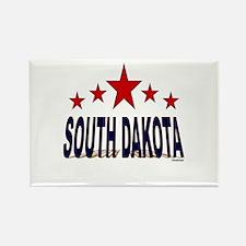 South Dakota Rectangle Magnet