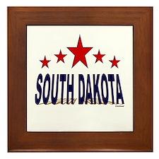 South Dakota Framed Tile