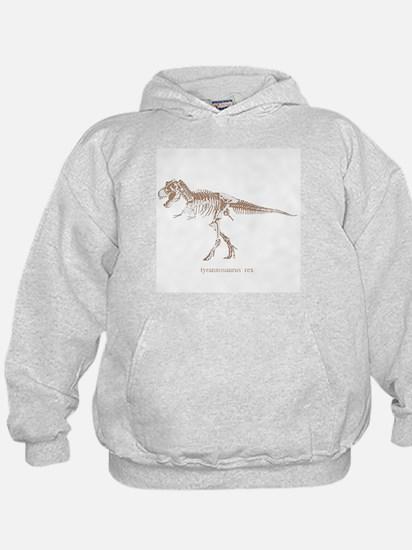 t rex skeleton.png Hoodie