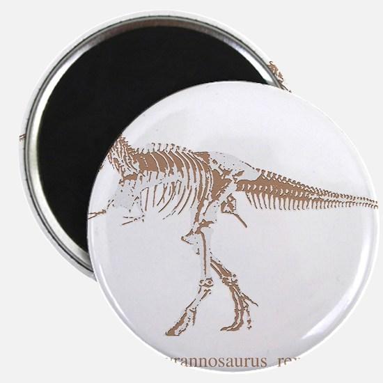 """t rex skeleton.png 2.25"""" Magnet (100 pack)"""