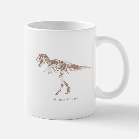t rex skeleton.png Mug
