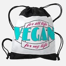 Vegan for All Drawstring Bag