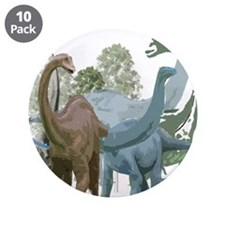 """The Sauropods 3.5"""" Button (10 pack)"""