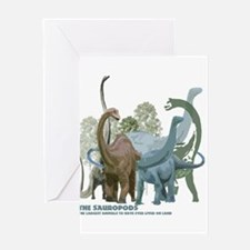The Sauropods Greeting Card