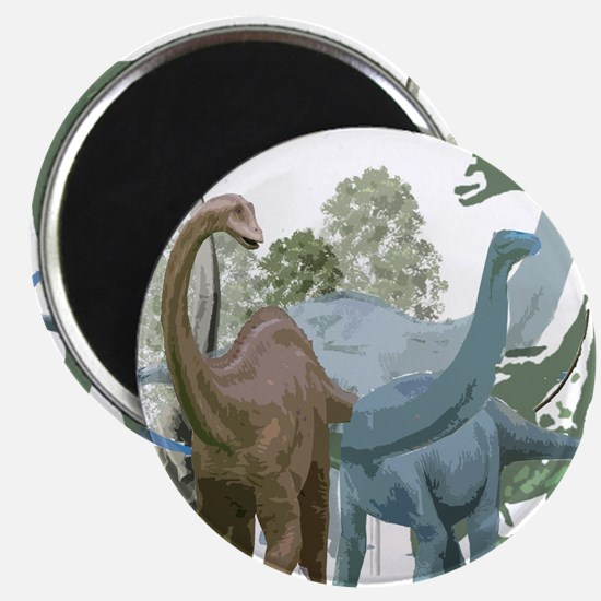 """The Sauropods 2.25"""" Magnet (100 pack)"""