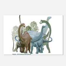 The Sauropods Postcards (Package of 8)