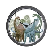 The Sauropods Wall Clock