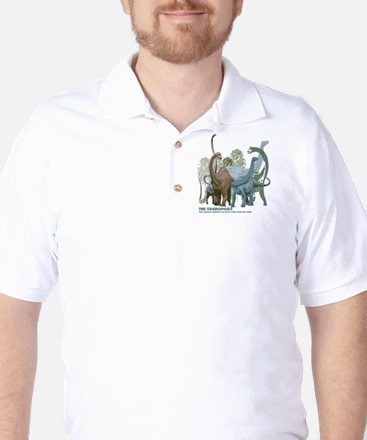 The Sauropods Golf Shirt