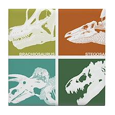 4 Skulls Tile Coaster