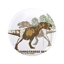 """Cute Dinosaur 3.5"""" Button (100 pack)"""