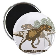"""Cute T rex 2.25"""" Magnet (10 pack)"""