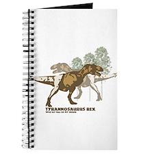 Funny Tyrannosaurus rex Journal