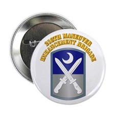 """SSI - 218th MEB w Text 2.25"""" Button"""