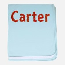 Carter Fall Leaves baby blanket
