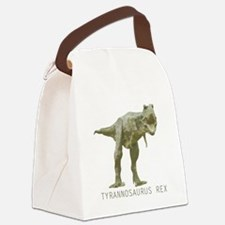 Tyrannosaurus Rex Canvas Lunch Bag