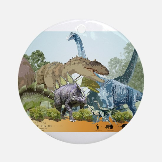 jurassic.png Ornament (Round)
