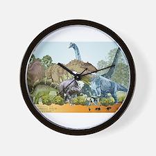 jurassic.png Wall Clock