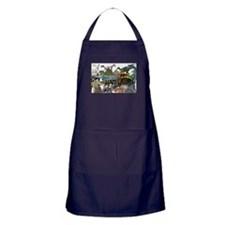 ALL WHITE.png Apron (dark)