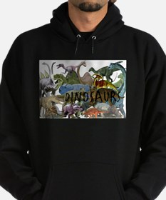 ALL WHITE.png Hoodie (dark)