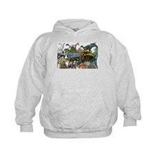 ALL WHITE.png Hoodie