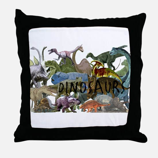 ALL WHITE.png Throw Pillow