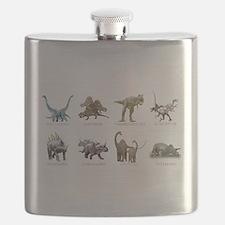 Unique Dinosaur Flask