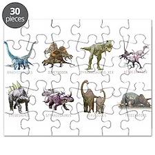 Unique Dinosaurs Puzzle