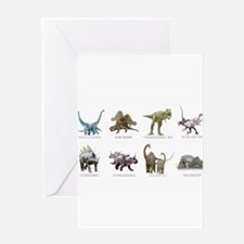Funny Dino Greeting Card
