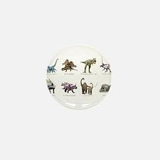 Cute Dinosaur Mini Button (10 pack)