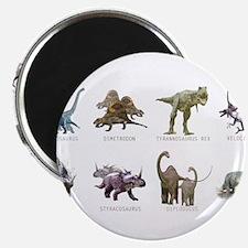 "Cute Dinosaur 2.25"" Magnet (10 pack)"