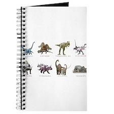 Funny Raptor dinosaur Journal