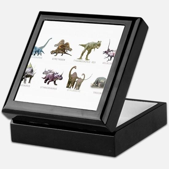 Unique Dinosaur Keepsake Box