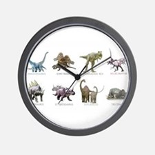 Cute Dinosaur Wall Clock