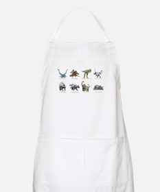 Funny Dinosaurs Apron
