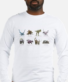 Cute Triceratops Long Sleeve T-Shirt