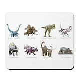 Dinosaur Mouse Pads