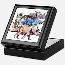 3-ceratopsians.png Keepsake Box