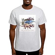 3-ceratopsians.png T-Shirt