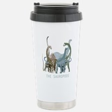 3-sauropods.png Stainless Steel Travel Mug