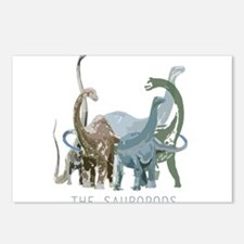 3-sauropods.png Postcards (Package of 8)