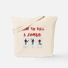 Zombie Killing 101 Tote Bag