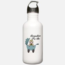 Grandma To Be Carriage Water Bottle