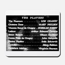 """""""The Players"""" Title Mousepad"""