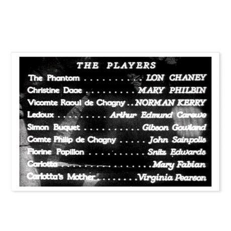 """""""The Players"""" Title Postcards (Package of 8)"""