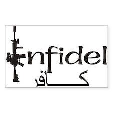 INFIDEL Stickers