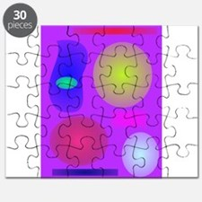 Favorite Colors Art Puzzle