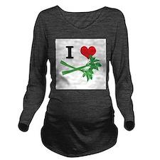 celery.jpg Long Sleeve Maternity T-Shirt