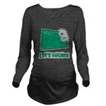 Lets Bounce Dice.png Long Sleeve Maternity T-Shirt