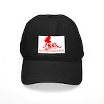 half evil, half evil t-shirt Black Cap